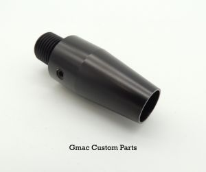 Black Anodised Silencer Adapter 50