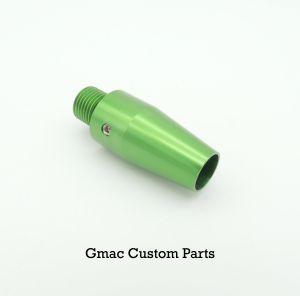 Green Anodised Silencer Adapter 50