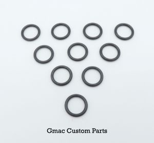 QB/XS Barrel  'O'rings pack of 10